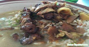 nasi becek khas nganjuk